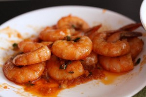 Shrimp-and-tomato
