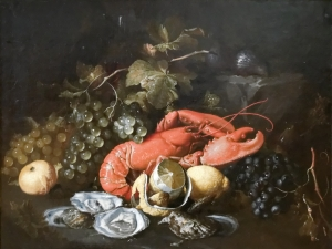 Still_life_fruit_lobster_Alexander_Coosemans