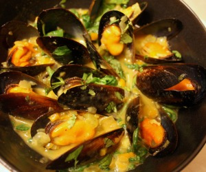 Curry-Mussels