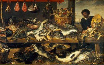 Snyders_Frans_Fish_Market